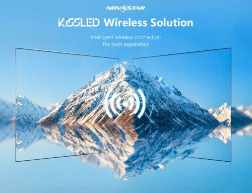 NovaStar Wireless Video Wall Connectivity Using Keyssa Technology